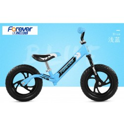 Forever AK1301 Balance Bike for Children from 2 to 6 FREE Helmet and Protection Guards (Blue)