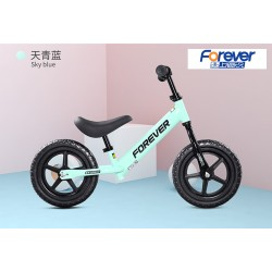 Forever FX68 Balance Bike for Children from 2 to 6 FREE Helmet and Protection Guards (Blue)