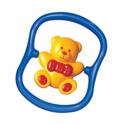 TOLO Baby Teddy Bear Rattle Toys