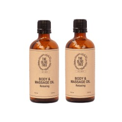 The Olive Tree Relaxing Body & Massage Oil Bundle