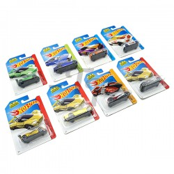 1:64 Die Cast Metal Car, Assorted Models - Set of 5