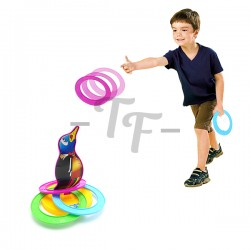 Toys Funtastic Fun Pitching Ring Toy For Kids - Asstd