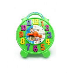 Toys Funtastic Educational Number Sorting Learning Blocks Clock