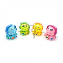 Bright Colour Rotary Octopus Baby Wind-Up Toys - Set of 2