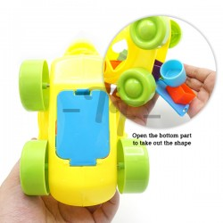 Toys Funtastic Infant Shape Sorter Blocks Tortise Pull Toys