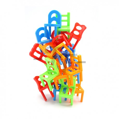 Toys Funtastic Stack-Up Balancing Chair Game Play Set