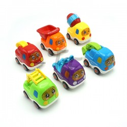 Toys Funtastic Friction Truck Children Play Toy - Model G (Police Car)