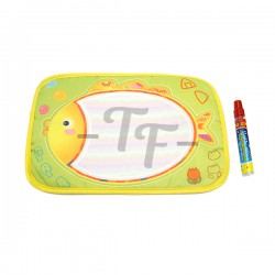 Toys Funtastic Learning Writng/Drawing Educational Water Doodle Mat + 1 Magic Water Pen