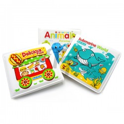 Toys Funtastic Baby Earlier Learning Educational Bath Book - Ocean Animals