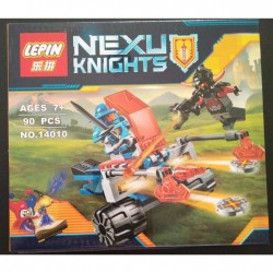 Lepin Knights Axl Knighton Battle Blaster Building Kit