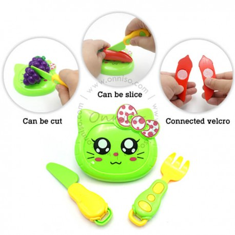 Toys Funtastic Sliceable Vegetables Cutting Play Toy Set