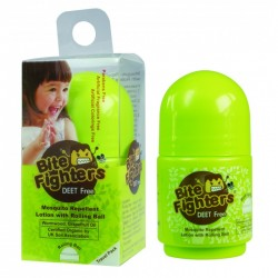 Bite Fighter Organic Mosquito Repellent Lotion with Rolling Ball