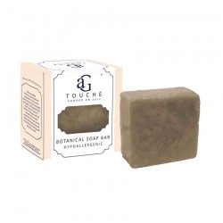 AG Touche Botanical Handmade Hypoallergenic Soap Bar 80g (Dark Chocolate)