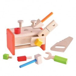 Wonder World Wooden Toys - Little Tool Box (A 4540-WW)