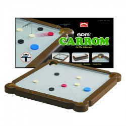 Fair World SPM Carrom Junior Traveller- Brown