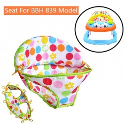 BBH Baby Walker Seat Cover for Meow Meow Model