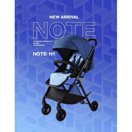BBH N1 Light Weight Compact Foldable Stroller for New Born Baby with Free Toy / Free Installation (Blue)