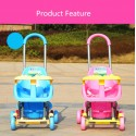 BBH 223 Baby Push Car Easy and Simple with PIPI Sound (Pink)