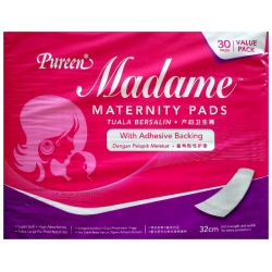 Pureen Madame Maternity Pads Twin Pack 2x30's
